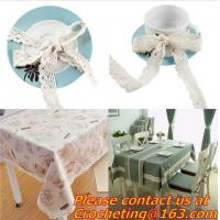 China Cotton Crochet Lace Ribbon wholesale Lace Trim for cushion, sofa, curtain, DIY jewelry acc on sale