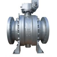 China 20 Inch 3PC Trunnion Type Ball Valve Fire Safe Design ANSI300LB API6D A216WCB on sale