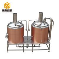 China Rose Gold SS304 / 316 500L Small Brewery Equipment 50 / 60 Hz Frequency on sale