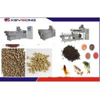 Buy cheap Floating Sinking Fish Food Feed Making Machine Fish Feed Extruder Adjusted from wholesalers