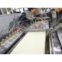 Buy cheap Durable PVC Ceiling Panel Making Machine / WPC Board Production Line Low Noise from wholesalers