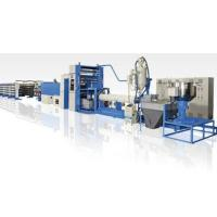 Quality 350kg/H PP Flat Yarn Extrusion Line , PP Woven Bag Making Machine High Speed wholesale