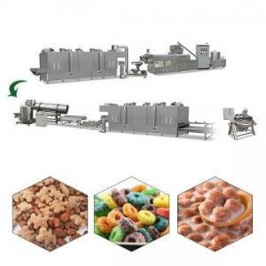 China Breakfast Cereal Making Machine corn processing machine corn flakes machine choose the right breakfast foods on sale