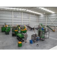 Buy cheap Conical Twin Screw Extruder Plastic Recycling Granulator Machine Pull Strap Pelletizer from wholesalers