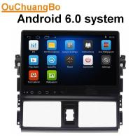 China Ouchuangbo 1024*600 Touch Screen Car DVD Player android 6.0 for Toyota Vios 2014 with WIFI Radio Stereo GPS DVR on sale