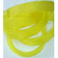 China UL ROHS Flexo Pet Expandable Braided Cable Sleeving  For Protecting Harness on sale