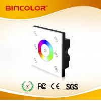 China P3 full color circle color touch dimmer wall mounted led touch rgb controller on sale