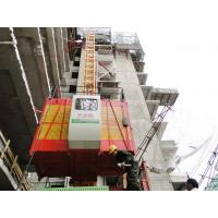 Quality SC100 1 Ton Twin Cage Construction Hoist Elevator and outdoor Material / Personal Hoist wholesale