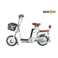 Quality LED Headlight Electric City Bike , 48V Double Seat Electric Scooter wholesale