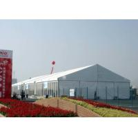 China Size Customized Large Shelter Tent , Aluminum Structure Tent With PVC Cover on sale