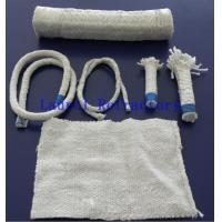 China Boiler Insulation Ceramic Fiber Refractory Textiles Oil / Water Vapor Resistent on sale