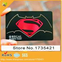 China custom metal business card/metal membership card/etched metal card with customized printing on sale