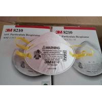 China NIOSH Approved brand 3M 8210 N95 Health Care Particulate Respirator and Surgical Mask on sale
