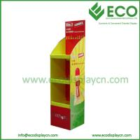 China Promotional POP Up Floor Cardboard Booth Display Stands for Pigment on sale