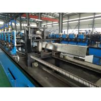 Buy cheap High Speed Hat Omega Purlin Angle Roll Forming Machine 10.6-2.0mm By Chain product
