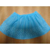 Quality Indoor Carpet Protector Disposable Shoe Covers Blue / Green Color Light Weight wholesale