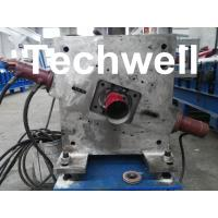 Quality Round Downspout Machine with Hydraulic Cutting / Downspout Roll Forming Machine wholesale