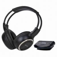 Quality Stereo IR Wireless Headphones for Home Audio Systems, with 10m Operating Distance wholesale