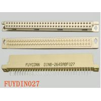 China 2 rows 64 Pin Female Eurocard Connector B Type Straight Terminals DIN 41612 Connector on sale