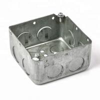 Quality Surface Mounted Metal Conduit Box Customized Dimension Drawn  Type wholesale