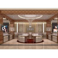 Quality Modular Island Jewelry Retail Glass Display Cases / Jewelry Store Display Cases wholesale