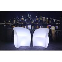 Quality 3 Pcs Color Charging LED Glow Furniture AC 100-240V Input LED Tables And Chairs wholesale