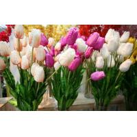 China Plastic  Decorative Artificial Flower Stems For Wedding Environmently Friendly Material on sale