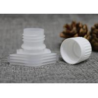 China 16mm Jelly / Milk / Mask / Cream Pack Plastic Pour Spouts With Screw Caps on sale