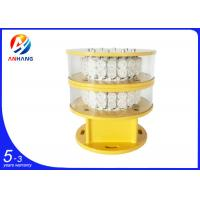 Quality AH-MI/I 2000cd intensity RED CREE Led Cell tower aviation obstruction lights wholesale