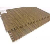 Quality Eco-friendly Wood Grain Waterproof Wall Panels / PVC Ceiling Panels wholesale