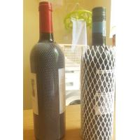 Quality PE Material Protective Mesh Sleeving Plastic Net For Liquor Wine Bottle Packaging wholesale