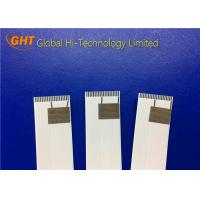 Quality Tin Plating FFC Shielded Ribbon Cable Pitch 1.0mm With 20 Pin +2 Pin Grounded wholesale
