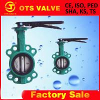 Cheap casting iron butterfly valve with ISO/CE/KS/KC/UL/FM/BV certificate for sale