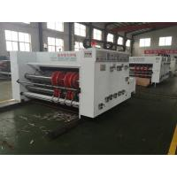 China Semi Auto Printing Slotting Die Cutting Machine High Precision For Carton Box on sale