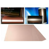 Quality ROHS Single Side FCCL Copper Clad Laminate with 0.5 ~ 2.0mils thickness PI Film Mil Modified Epoxy Adhesive wholesale