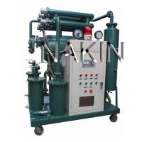 Quality Transformer oil purifier system, oil regeneration, oil purification, oil filtration, oil dehydration wholesale