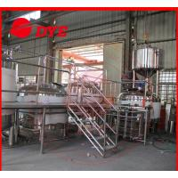 Quality 5BBL Manual Industrial Beer Brewing Equipment Anti-aging For Restaurant wholesale