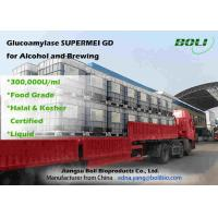 Quality Liquid 300000 U / ml Glucoamylase Enzyme  High Enzyme Activity For Alcohol And Brewing wholesale