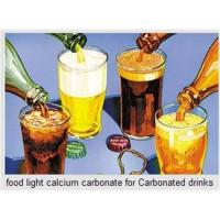 Quality Food light calcium carbonate for Carbonated drinks wholesale