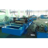 Quality High Speed 0 - 25m / min Corrugated Roll Forming Machine Fly Cutting No Stop wholesale