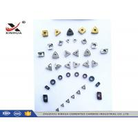 Quality Cermet Indexable Carbide Inserts Full Range For Finishing Machining Steel Material wholesale