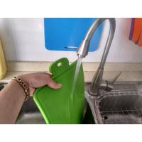 Quality Easy Washing Safe Use Food Grade Silicone Cutting Board Of Blue and Green wholesale