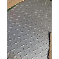 China 304 Stainless Steel Checkered Plate , Floor , Skid Proof Plate , Tear Plate on sale
