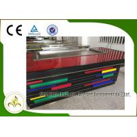Quality S/S Electric Indoor Teppanyaki Grill 8 Seats Rectangle Fume Upper Exhaust wholesale