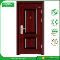 Quality Competitive Luxury Steel Door China Low Prices Modern Industrial Security Steel Door with Galvanized Handle wholesale