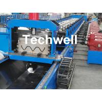 Quality 3 Wave Highway Guardrail Roll Forming Machine for Making Steel Curvinging wholesale