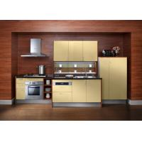 Quality Embeded Contemporary Style Plywood Kitchen Cabinets With Carcass Lacquer Door wholesale