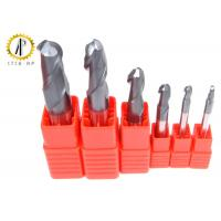 China High Performance Miniature Carbide End Mills Metric Ball End Mill Bits ALTiN Coating on sale