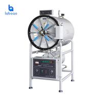 Horizontal pressure steam sterilizer large medical equipment machine