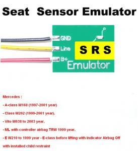 Quality SRS6 Mercedes Seat Sensor Emulator , Car Repair Troubleshooting for Mercedes Benz wholesale